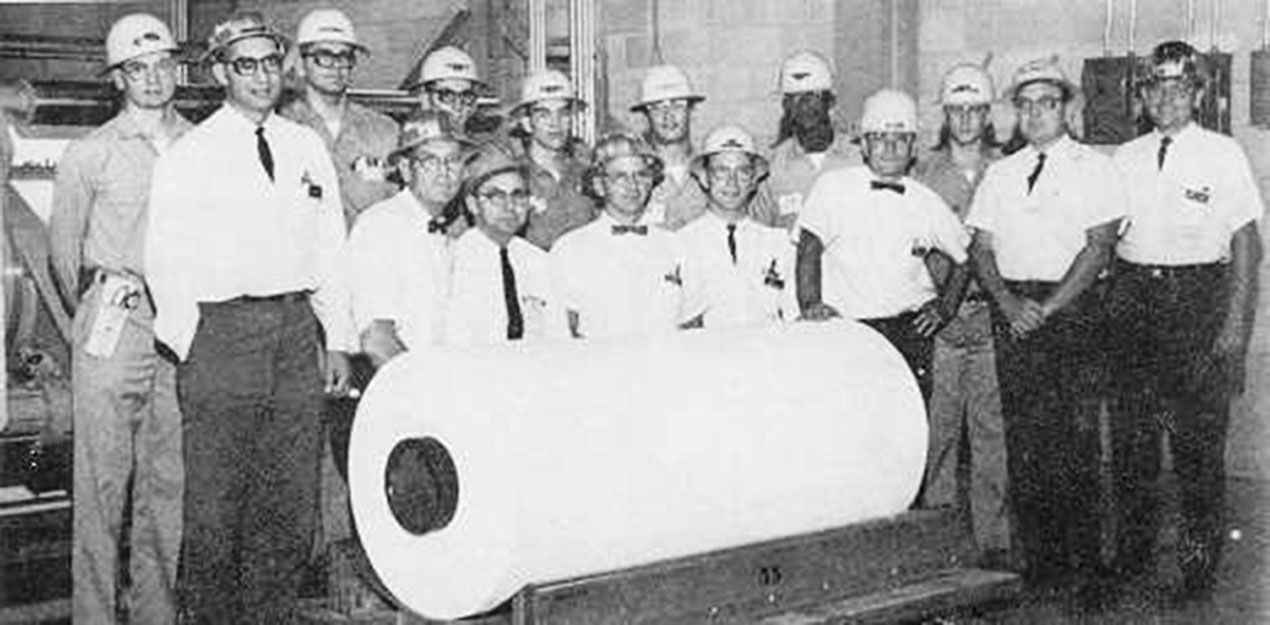 First Roll of Tyvek® - 1967