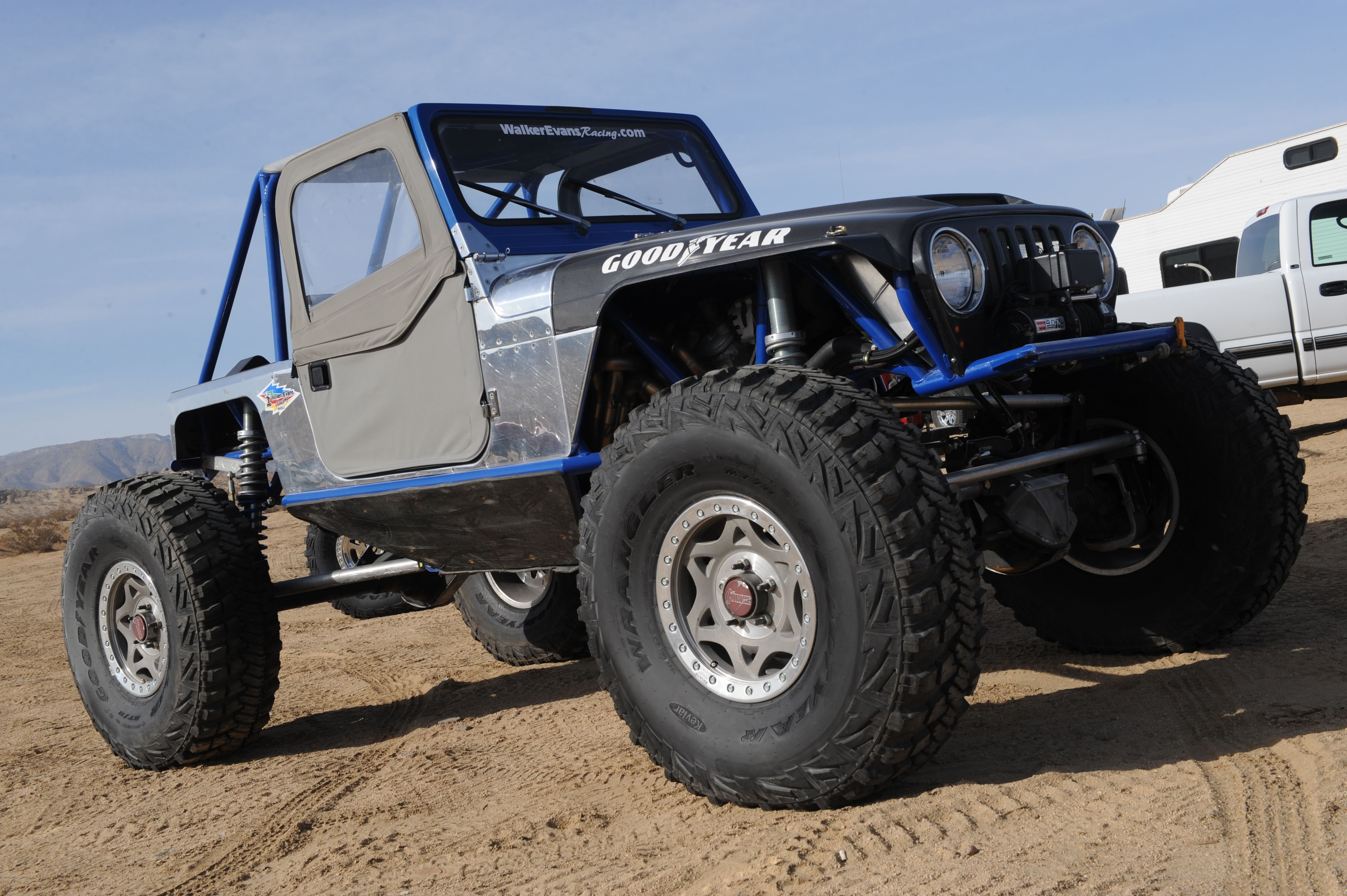 Wrangler MTR Tires made with Kevlar®