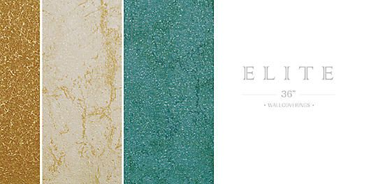 The Elite series of DuPont™ Inovis™ easy clean wallcoverings