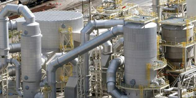 A sizeable sulfuric acid plant represents the world-leading design and engineeri